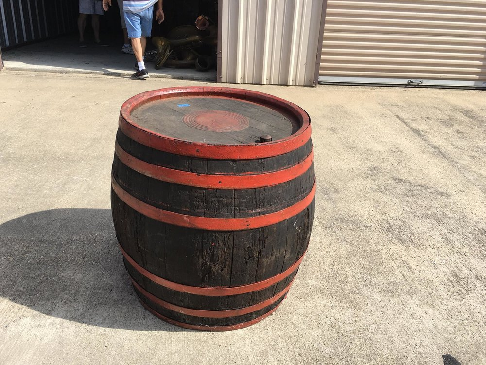 Vintage Circus Barrel