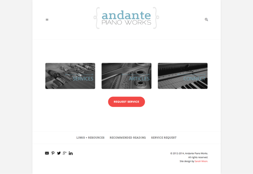 Andante Piano Works