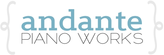 Andante Piano Works - Logo