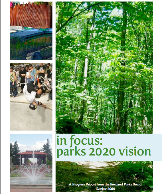 Parks 2020 Vision Report