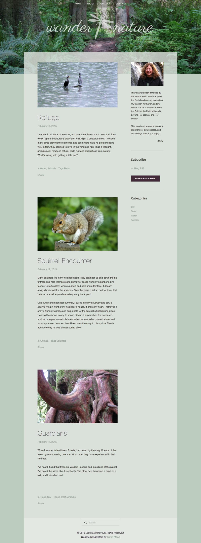 Wander Nature Blog