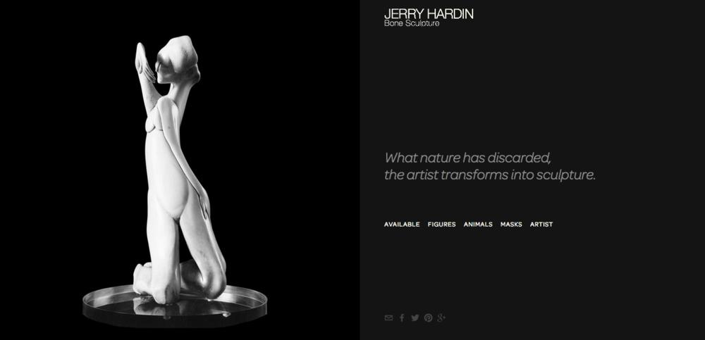 Bone Sculpture by Jerry Hardin