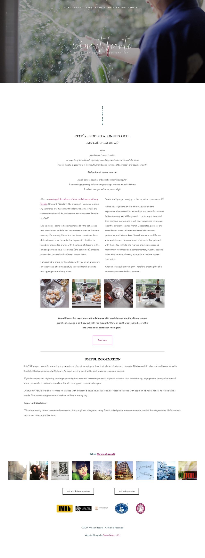 Wine & Dessert Experience