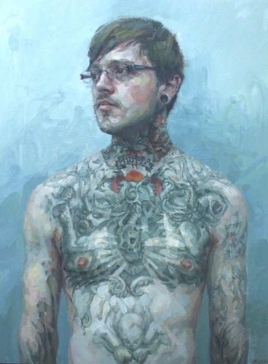 """""""Hope"""" oil on wood 40""""x30""""  Awarded First Merit by the Portrait Society of America  AVAILABLE"""
