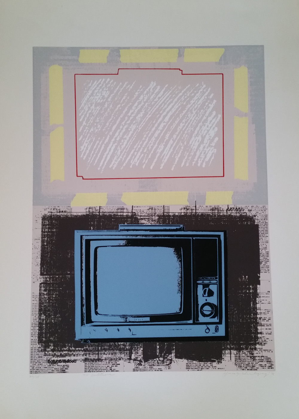 TV Culture 22/35 30X21.5 inches