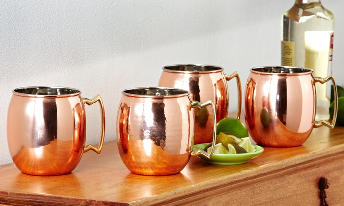 Copper Mugs - Lenox- available at Gordon Jewelers