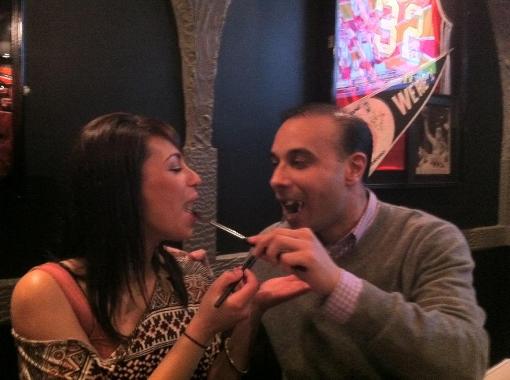 Fondue is my favorite.