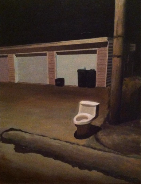 "Link   Artist: Isaac Boyle  Title:   Throne   Size:  17""x22""   Mediums: Oil  W.I.P or Done: Done"