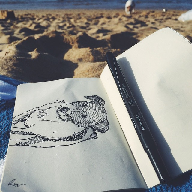 Perreando en la playa… @ Playa La Peña, Capitolio Viejo San Juan