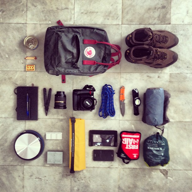 Camping gear:   View the end product here:  From digital to analog