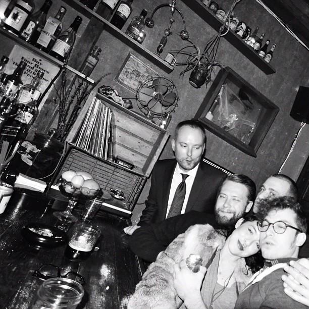 A Social Club some where inBrooklyn