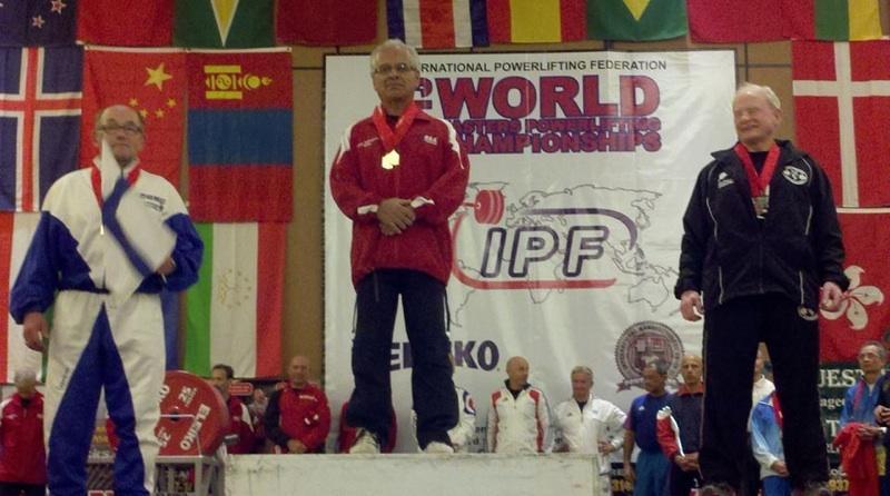 2012 IPF World Champion Jules Pellegrino
