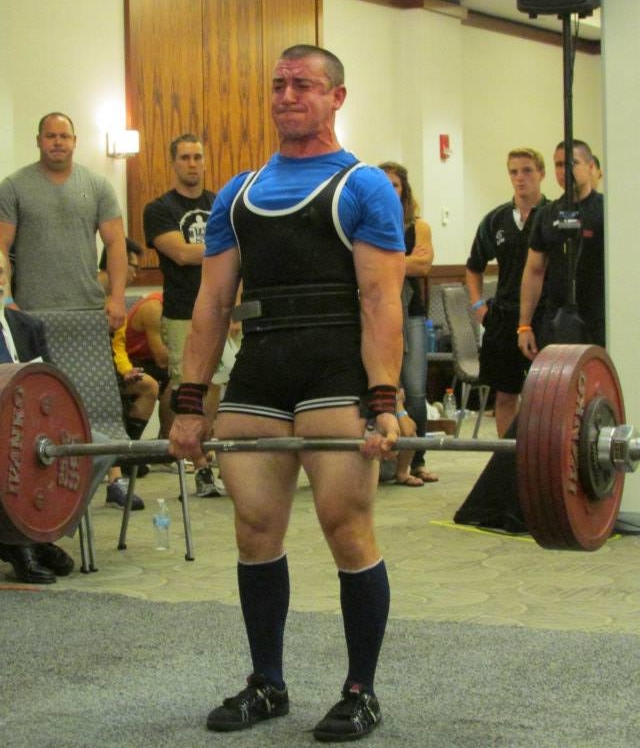 518 Deadlift at 2014 USAPL NJ State Championship