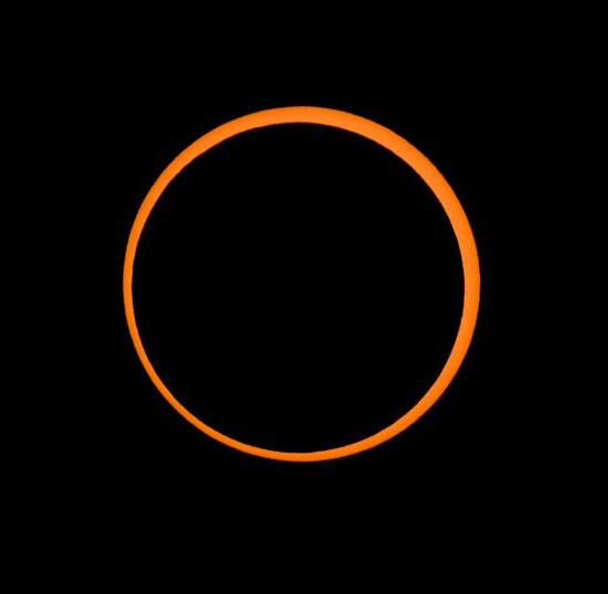 Annular solar eclipse on May 20, 2012. © 2010 Alson Wong, www.alsonwongastro.com/