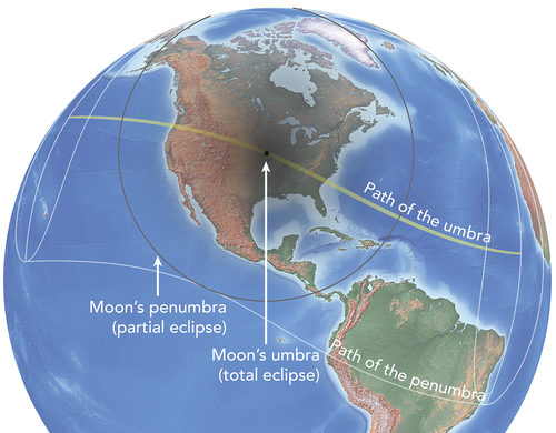 Total Solar Eclipse 2017 World Map.Basics Total Solar Eclipse Of Aug 21 2017