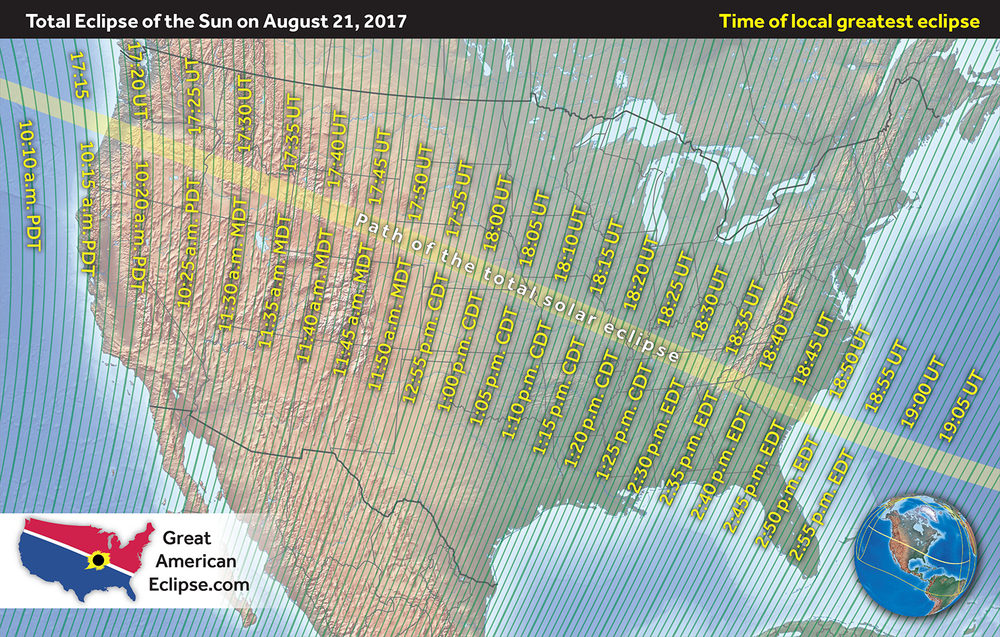 National maps — Great American Eclipse | Total solar eclipse of Aug 21, 2017