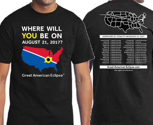 Where Will You Be T Shirt Total Solar Eclipse Of April 8 2024