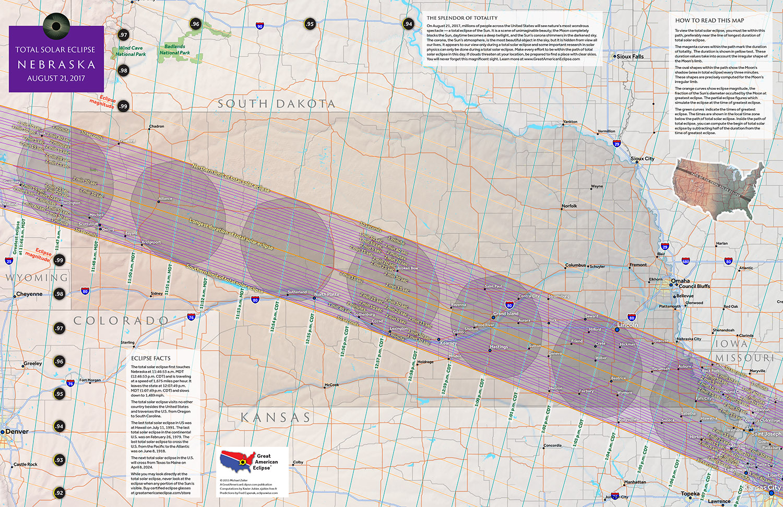 Nebraska Eclipse Great  ınformation Total Of