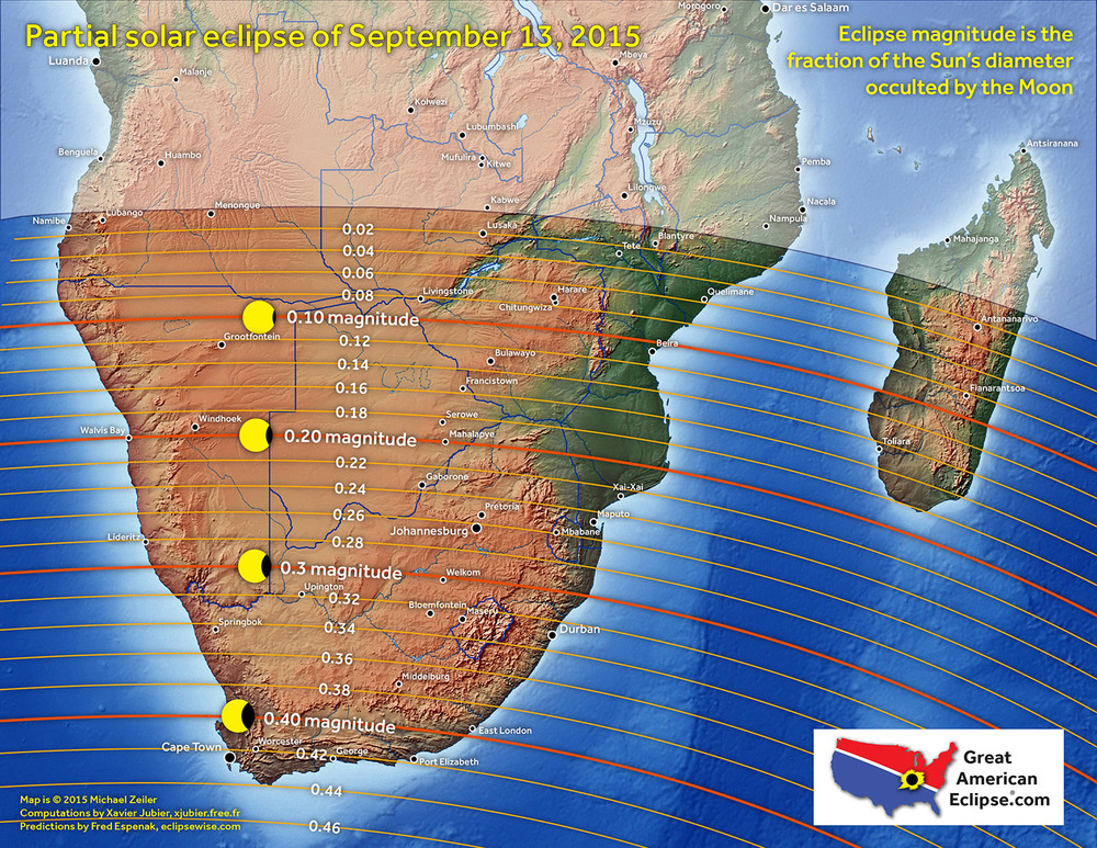 Partial Solar Eclipse Map.Partial Solar Eclipse Of September 13 Total Solar Eclipse Of Aug