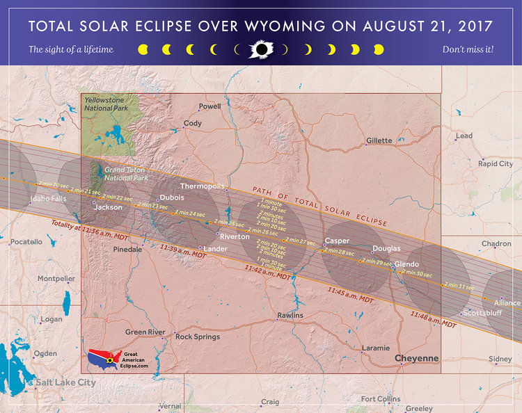 Wyoming eclipse — Total solar eclipse of April 8, 2024
