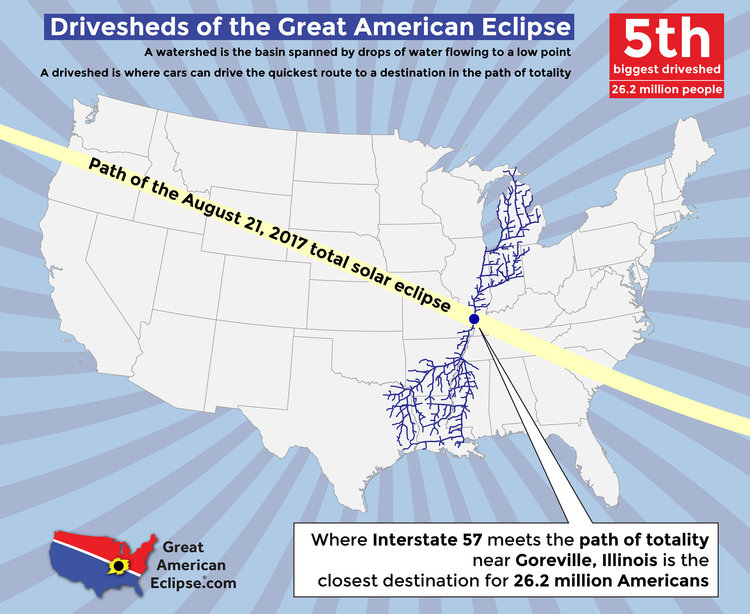 Statistics Total Solar Eclipse Of Aug - Us interstate road conditions map