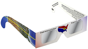 To watch the partial stages of the eclipse, you must have proper eye protection. Eclipse glasses are affordable and safe. It's smart to get your supply before eclipse day to beat the inevitable shortages! Click image for details.