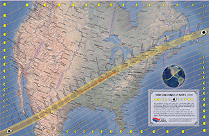 Our eclipse maps are famous for their accuracy, utility, and beauty. Find over 15 maps in our store, click image for details.