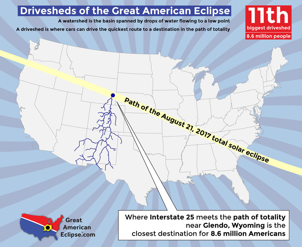 Wyoming Eclipse Total Solar Eclipse Of Aug - Us total eclipse 2017 map