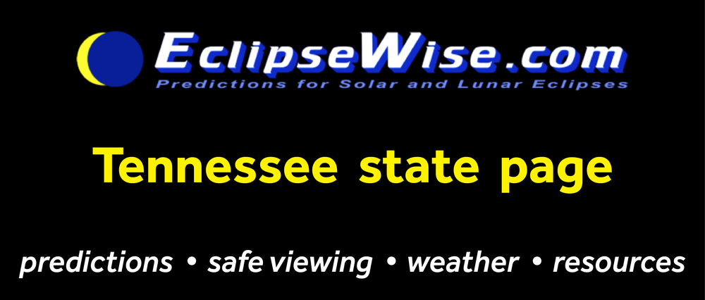 CLICK FOR THE Illinois STATE PAGE ON ECLIPSEWISE.COM. THE SITE PROVIDES THE MOST COMPREHENSIVE AND AUTHORITATIVE STATE PAGES FOR THE 2017 ECLIPSE. ECLIPSEWISE.COM IS BUILT BY FRED ESPENAK, RETIRED NASA ASTROPHYSICIST AND THE LEADING EXPERT ON ECLIPSE PREDICTIONS.