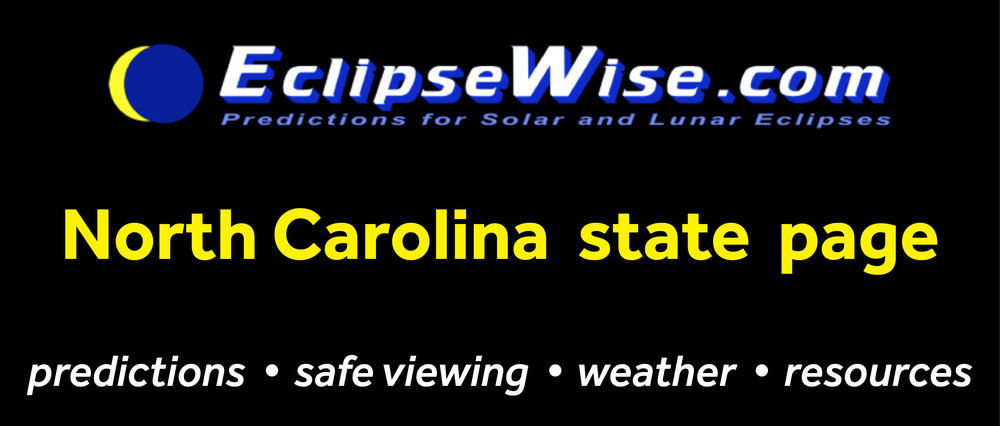 CLICK FOR THE OREGON STATE PAGE ON ECLIPSEWISE.COM. THE SITE PROVIDES THE MOST COMPREHENSIVE AND AUTHORITATIVE STATE PAGES FOR THE 2017 ECLIPSE. ECLIPSEWISE.COM IS BUILT BY FRED ESPENAK, RETIRED NASA ASTROPHYSICIST AND THE LEADING EXPERT ON ECLIPSE PREDICTIONS.