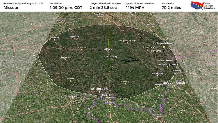 Missouri Eclipse Total Solar Eclipse Of Aug 21 2017