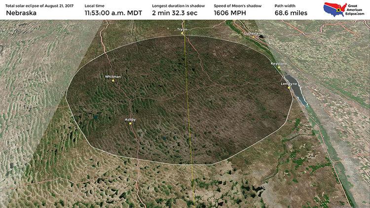 Nebraska Eclipse Total Solar Eclipse Of Aug 21 2017
