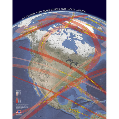 NEW: 21st Century Total Solar Eclipses over North America — Total ...