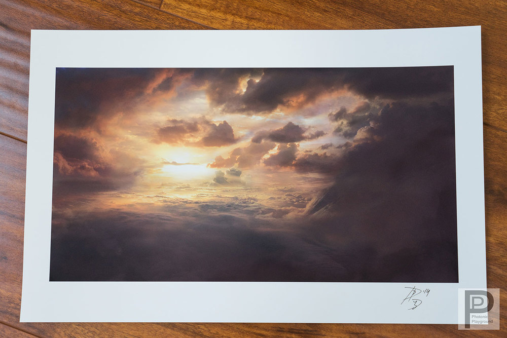 """Horizon of Heaven"" giclée 11x17"" print"