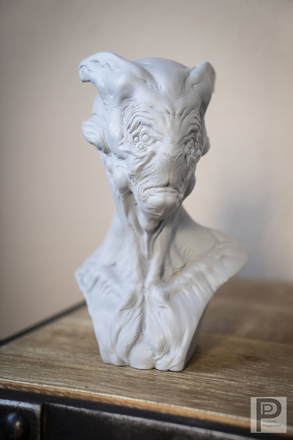 """Cornelius"" resin sculpt"