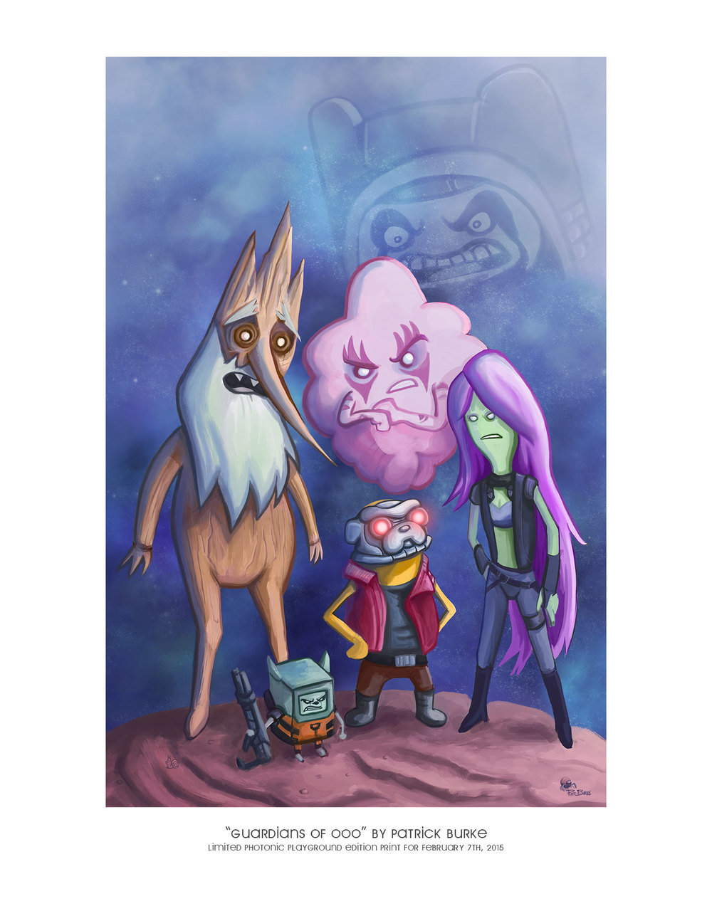 """Guardians of Ooo""   gicl  é  e print"