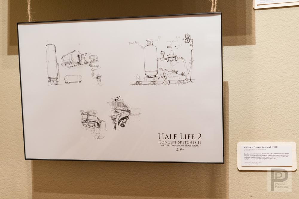 Half Life 2: Concept Sketches II