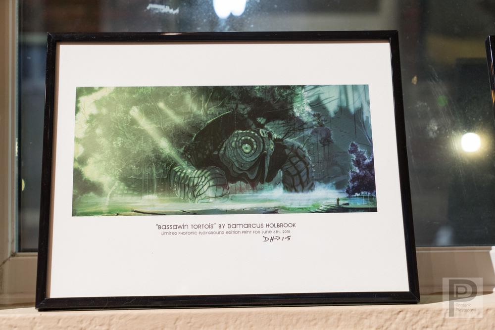 Bassawin Tortoise (framed #1)