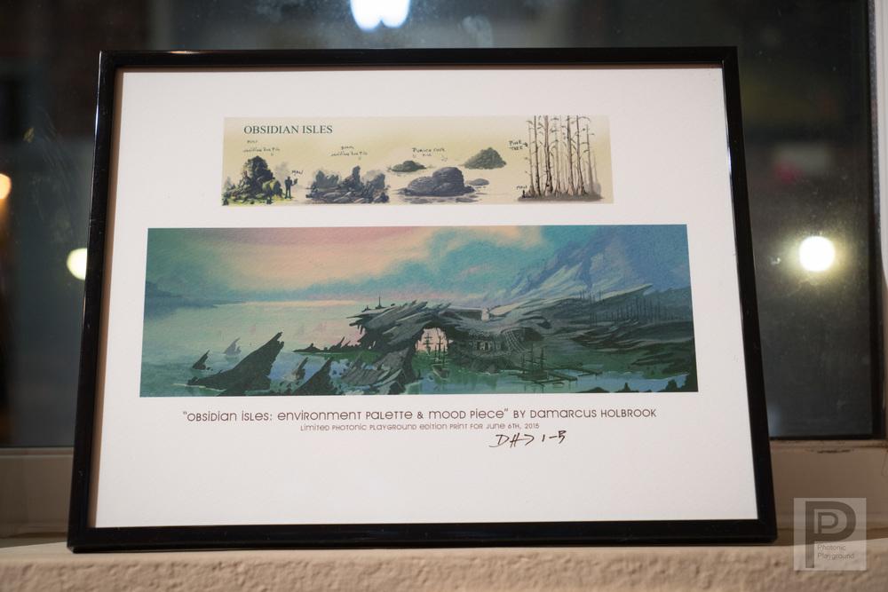 Obsidian Isles (framed #1)