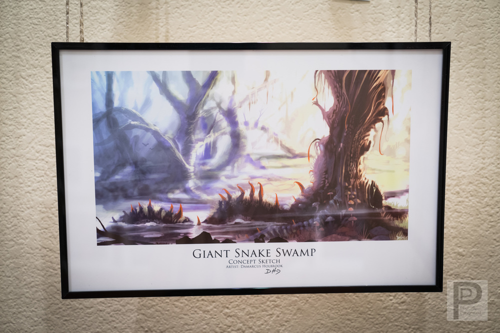 Giant Snake Tree Swamp
