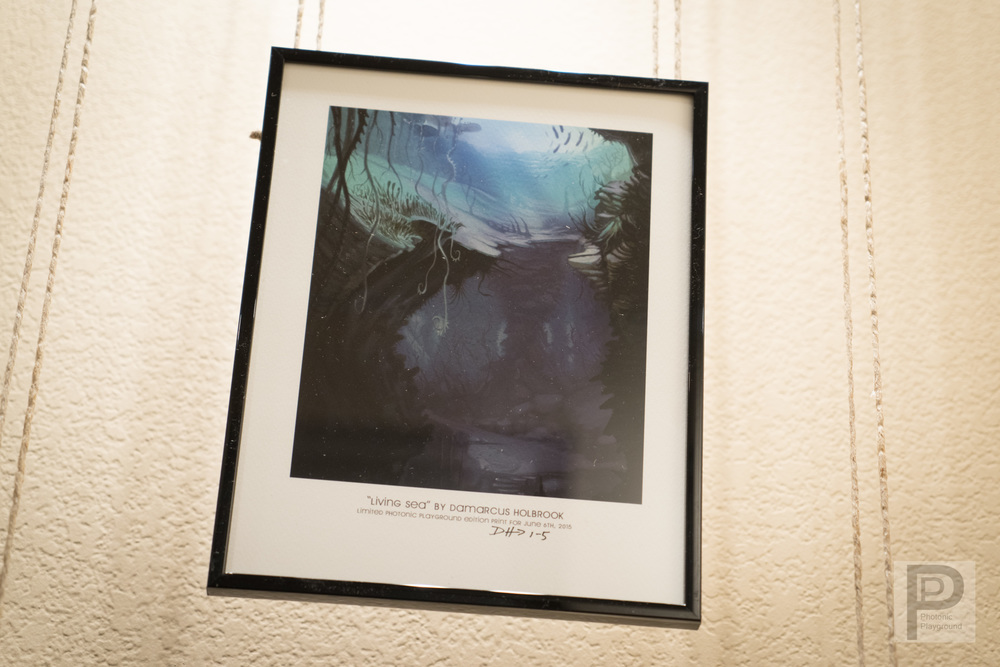 Living Sea (framed #1)