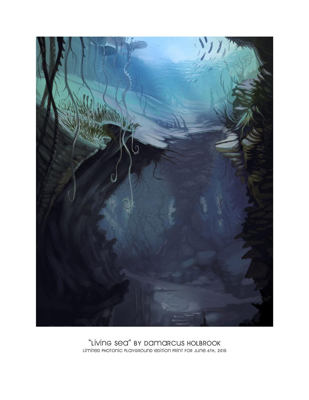 Living Sea (print)