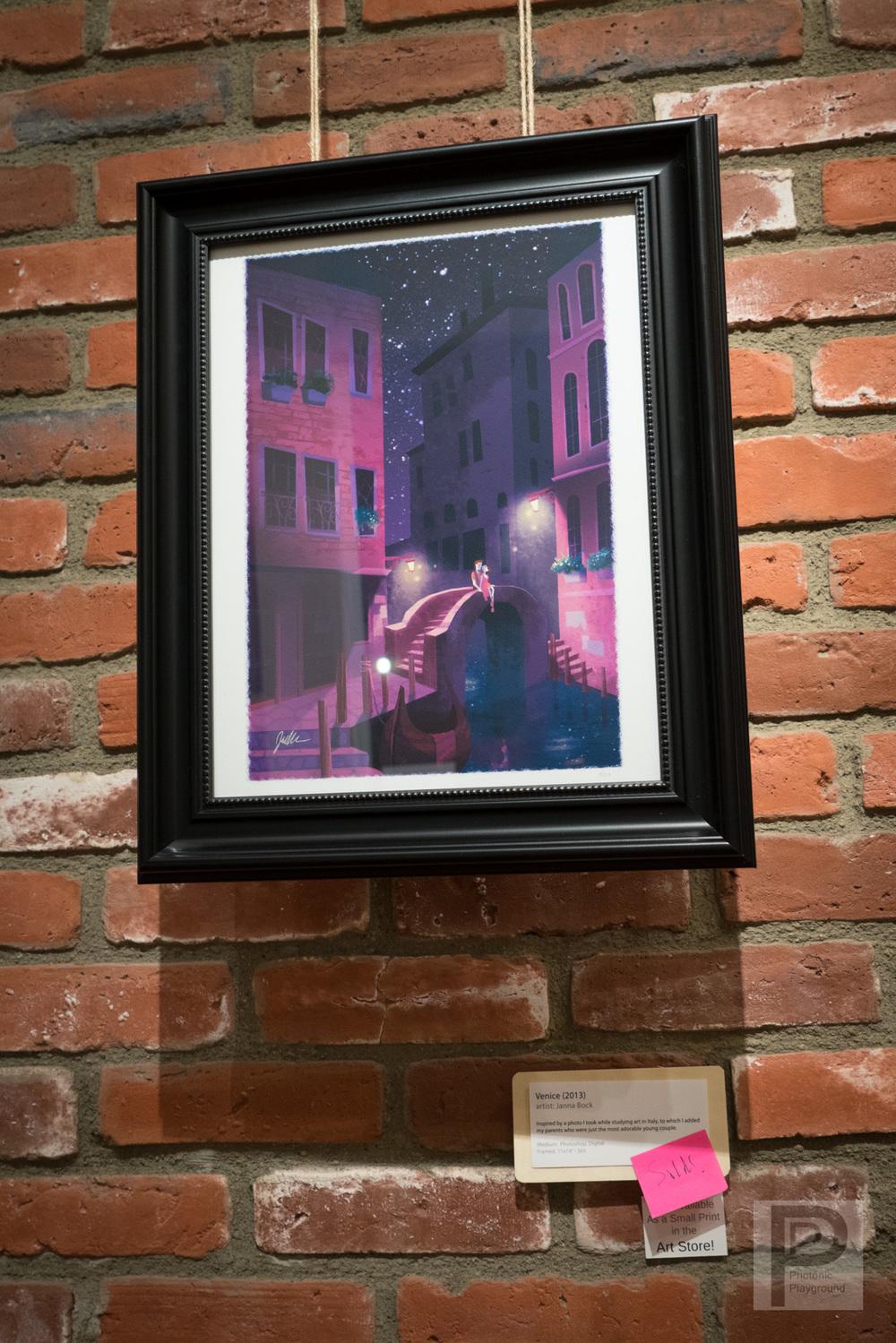 Venice (framed)
