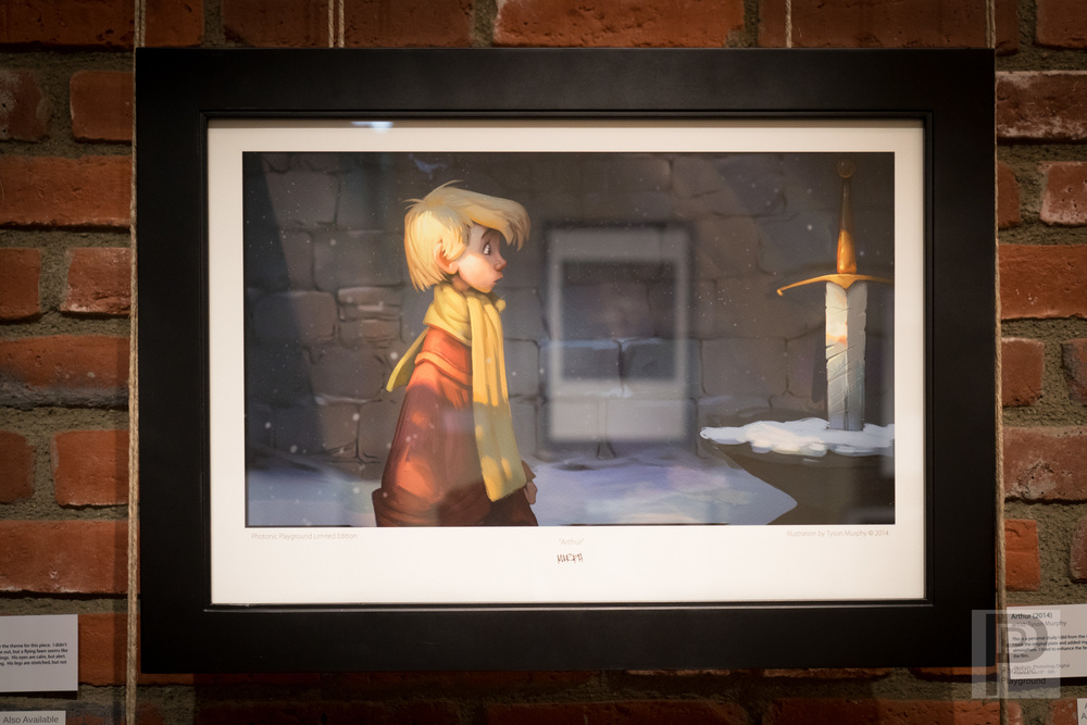 "Framed ""Arthur"""