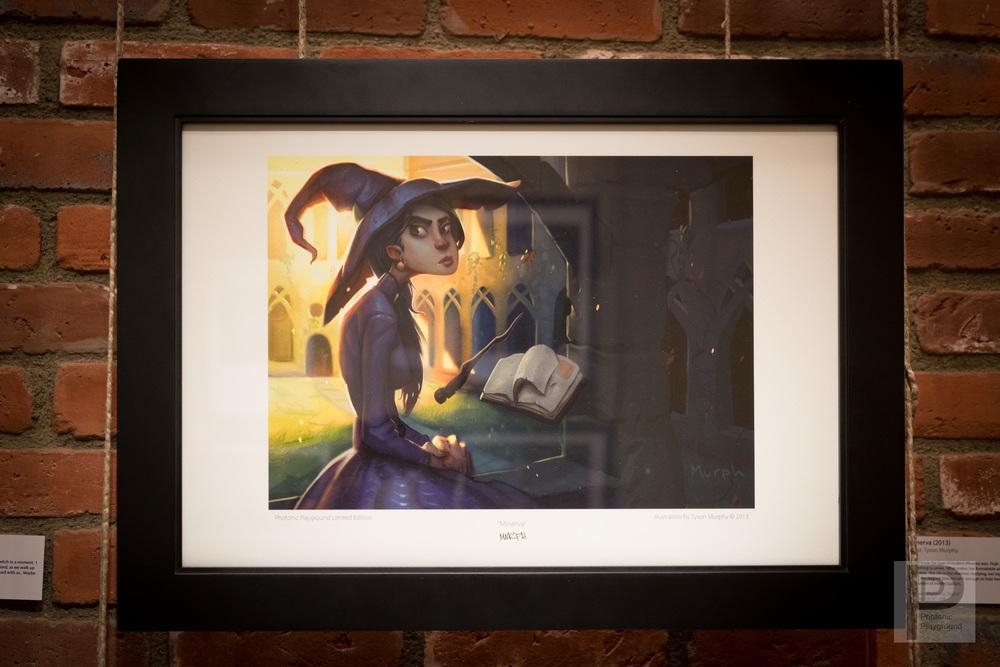 """Framed """"Minerva"""""""