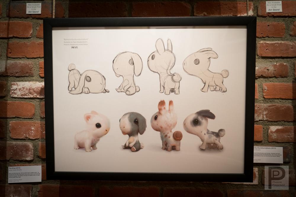 """Framed """"Bunnybunbunbunsbunnybun"""""""