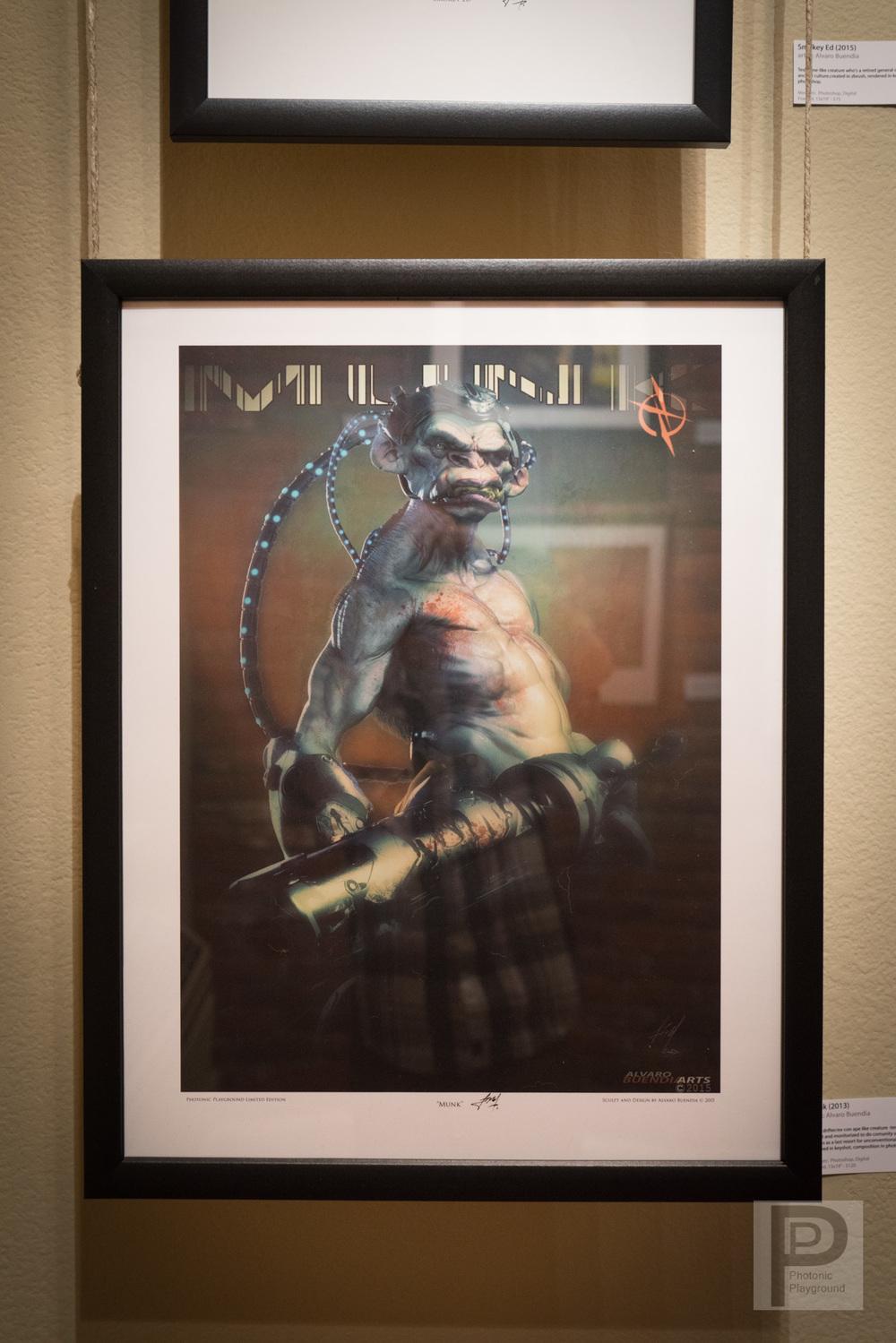 "Framed ""Munk"""