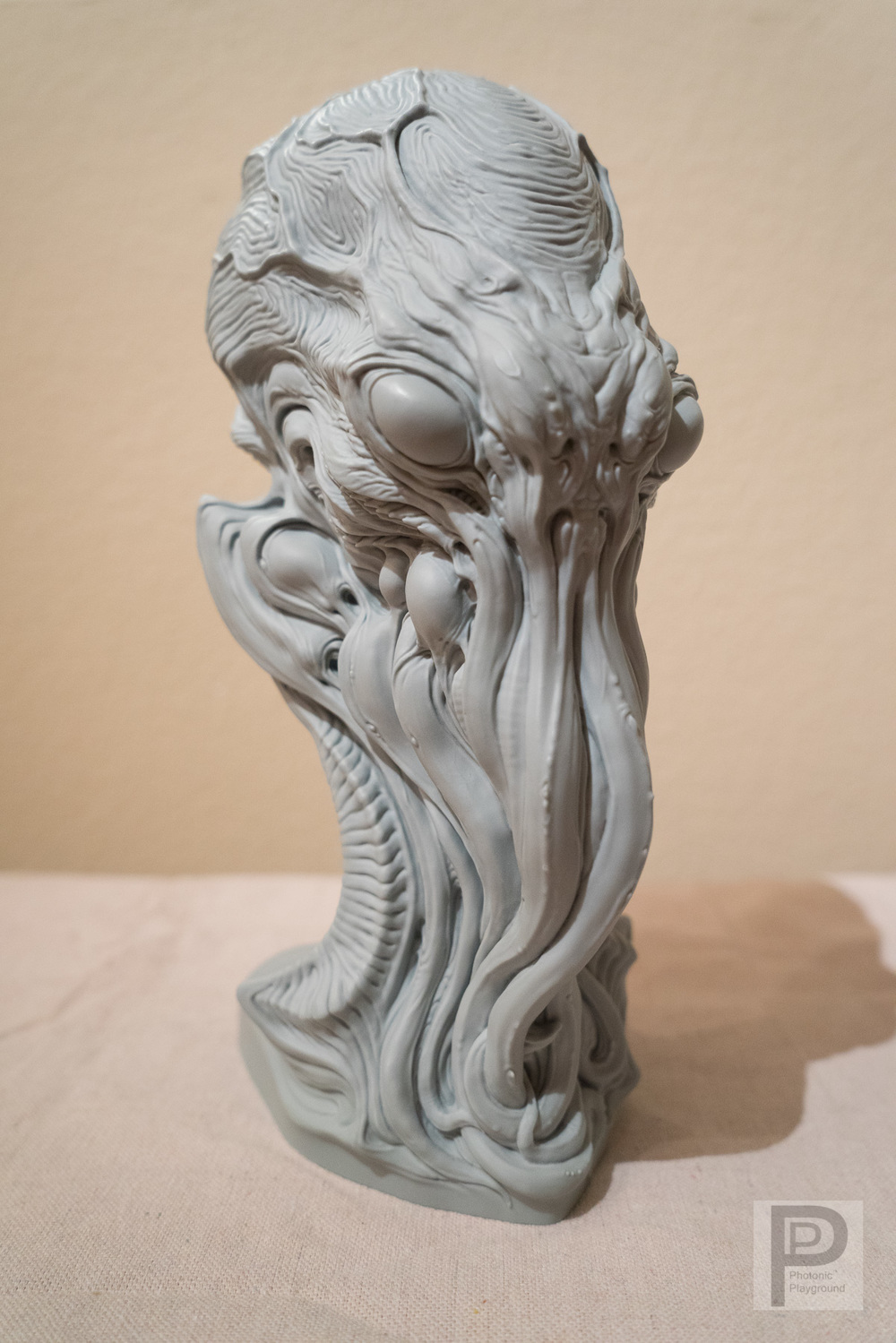 """Cthulhu""  3D   p  rinted bust"