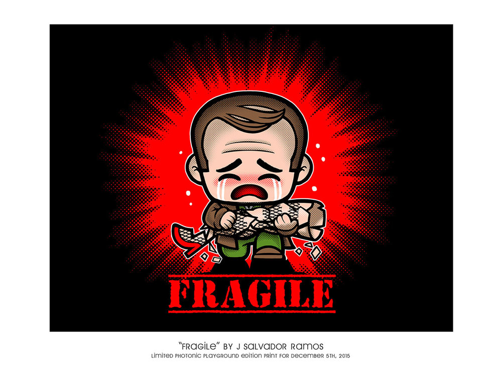 "8.5x11"" Print: Fragile"