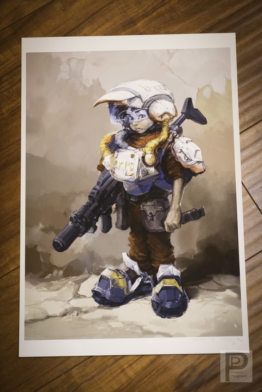"13x19"" Print: ""Boy Soldier"""